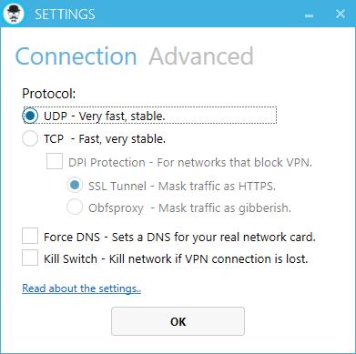 Anti DPI SSL OPTION