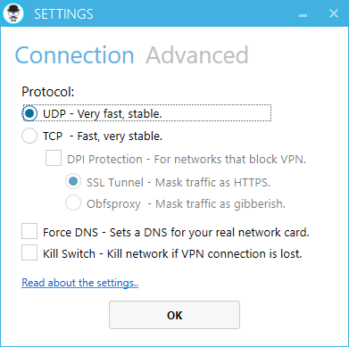 Anti DPI SSL OPTION