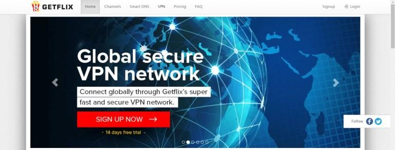 Getflix VPN on Firestick