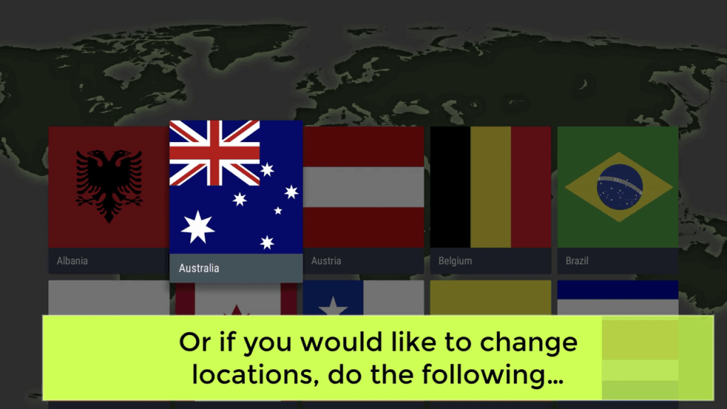 Choose a country