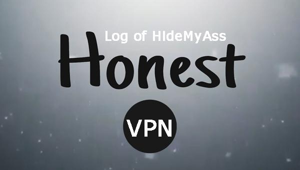 Honest act about HideMyAss logs