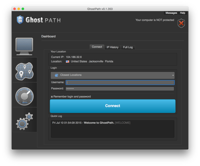 client of ghostpath in vpnif 1