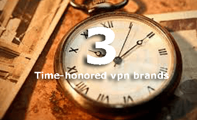 three time-honored vpn brands