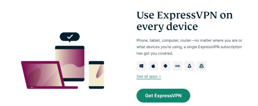 Use ExpressVPN on every device