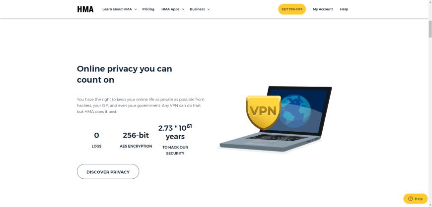 Online privacy you can count on