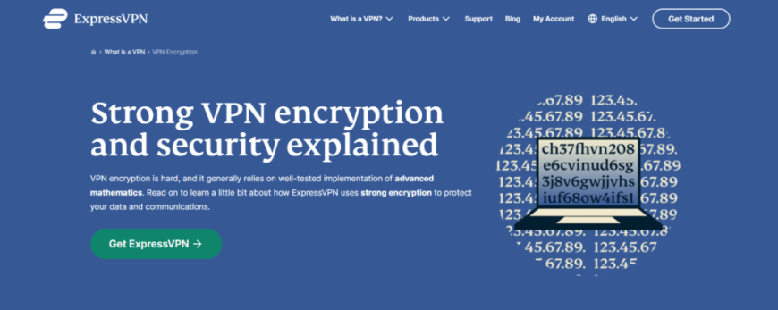Strong VPN encryption and security explained
