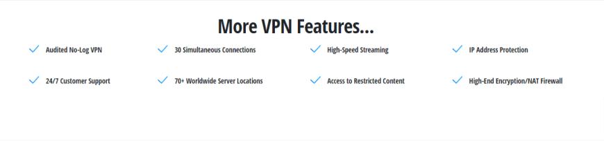 More VPN Features...