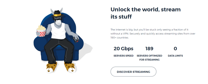 Unlock the world stream its stuff