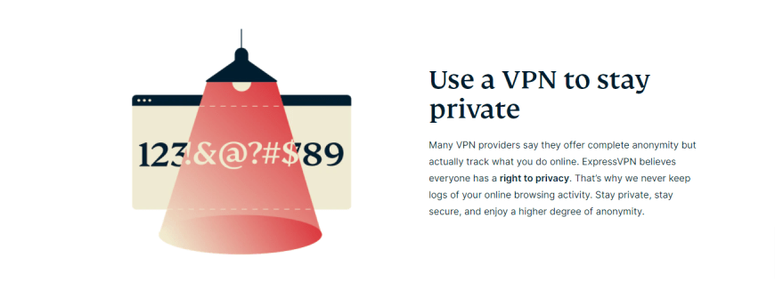 Use a VPN to stay private