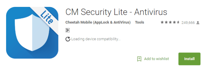 cm security for pc