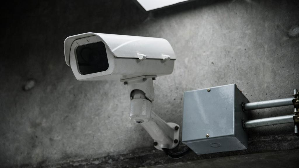 An Image of a Security Camera Resembling a VPN