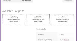 WooCommerce Coupons Pro Plugin  - 1