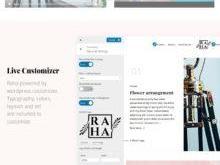 Raha - Creative WordPress Theme - 1
