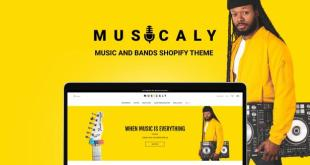 Musicaly - Shopify Music Shop Theme - Music Band & School - 1