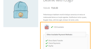 woocommerce cash on delivery