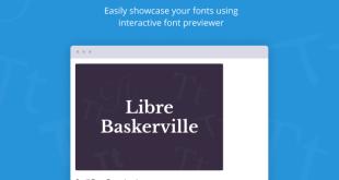 Jeg Font Preview - Easy Digital Downloads Extension WordPress Plugin - 1
