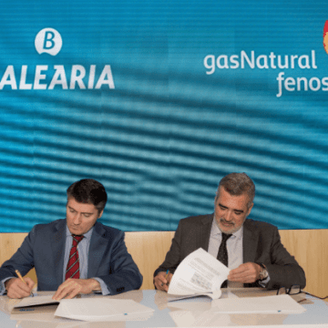 Gas Natural Fenosa and Baleària sign LNG bunkering contract