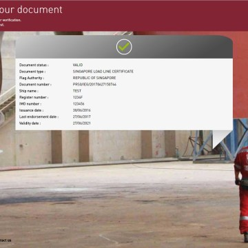 Bureau Veritas issues electronic certificates
