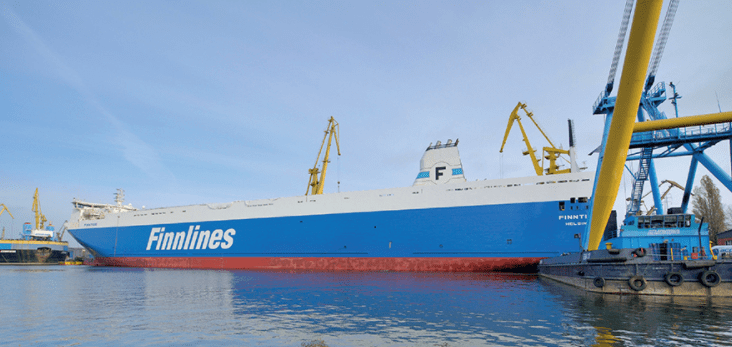 Finnlines lengthens two more ro-ro vessels