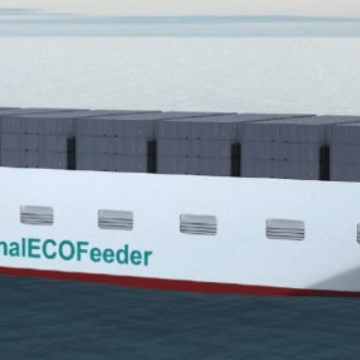 Spotlight on the Regional ECOFeeder vessel