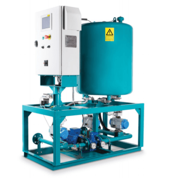 Blending-on-board system-oil solution gives engine efficiency a boost