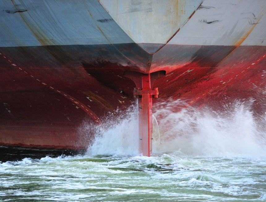 Hydrex sees rise in number of underwater propeller cone fin installations