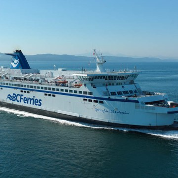 BC Ferries converts vessel to operate using LNG