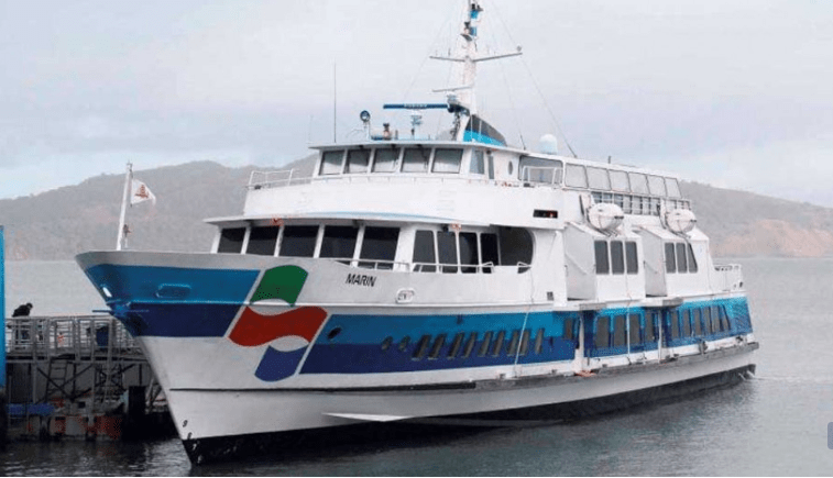 Californian ferry opts for Ecospeed hull coating