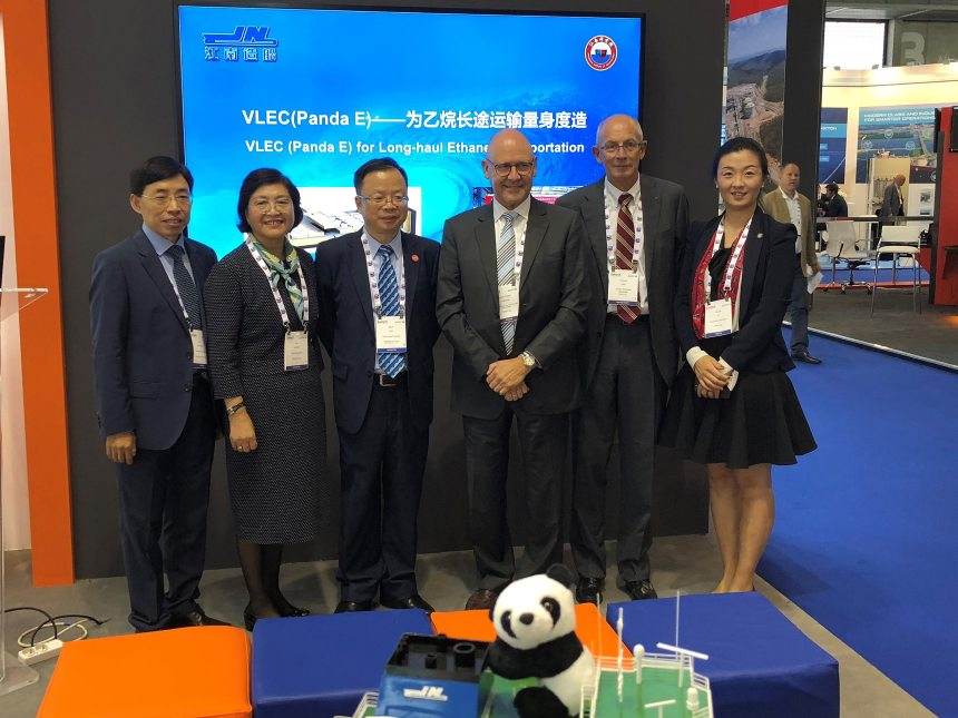 Very large ethane carrier design receives AiP from DNV GL
