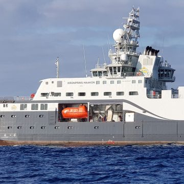 Polar research vessel fitted with Optimarin BWTS