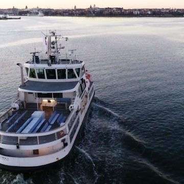 Remotely-operated ferry completes voyage in Helsinki