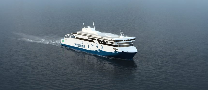 Construction of Wasaline dual-fuel LNG ferry confirmed