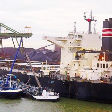 NYK bulk carrier trials GoodFuels biofuel