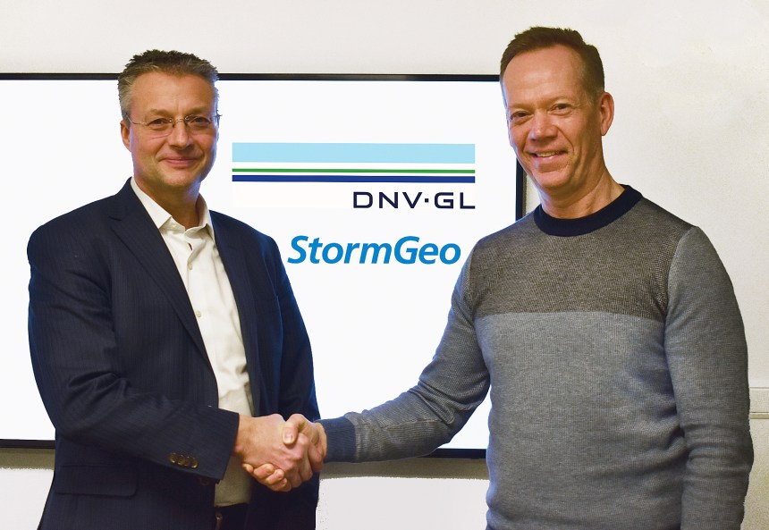 StormGeo and DNV GL partner on fleet performance solution
