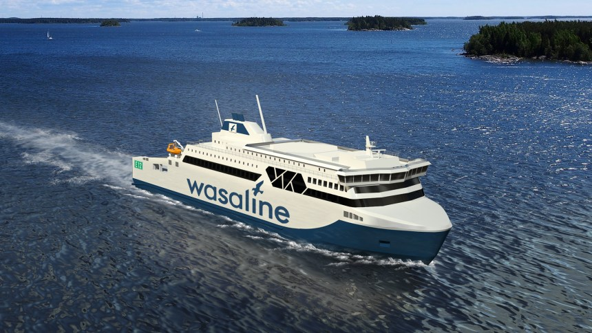 Deltamarin secures contract for dual-fuel ferry design