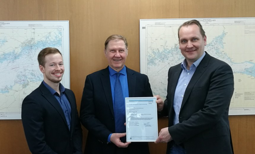 Wind propulsion tech granted type approval