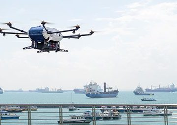 Wilhelmsen and Airbus complete drone delivery pilot