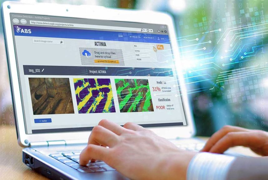 ABS pilots AI for corrosion detection