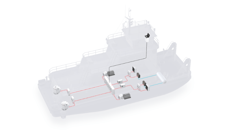 ABB to power first hydrogen-fuelled river vessel