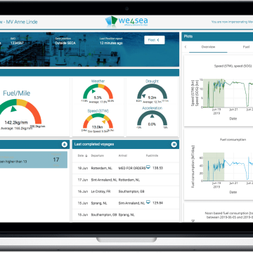 We4Sea updates fuel monitoring software ahead of IMO 2020