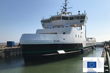 Fully electric ferry completes 22nm voyage