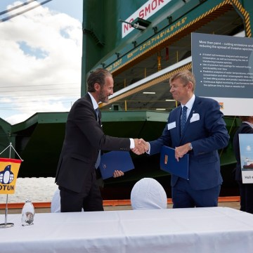 Wallenius Wilhelmsen commits 42 Ro-Ros to Jotun's hull performance system