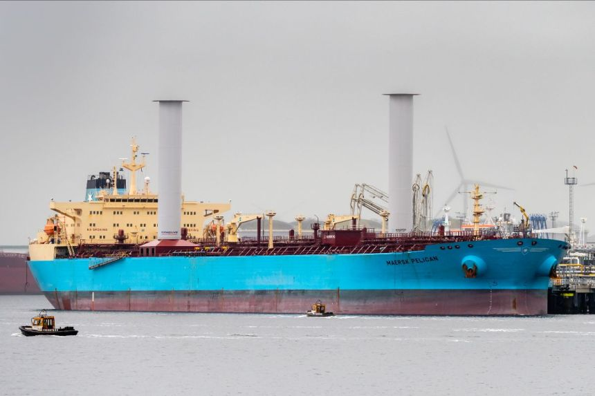 Maersk harnesses wind power to cut fuel consumption by 8.2%