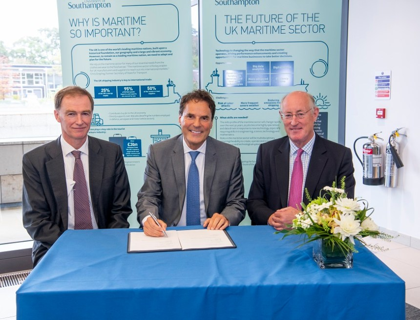 Shell and the University of Southampton launch Centre for Maritime Futures