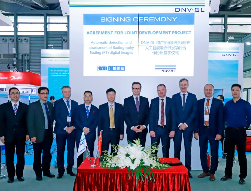 DNV GL and GSI cooperate on AI-based solution to improve welding efficiency