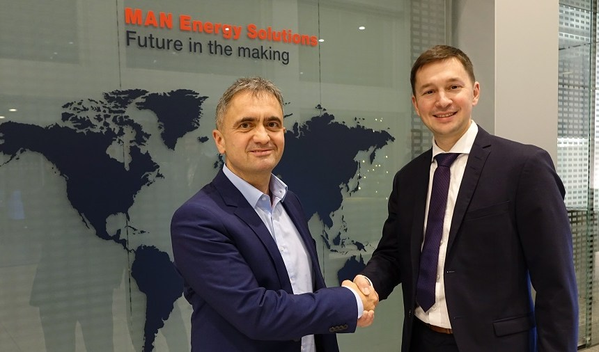 MAN ES improves engine efficiency with Orcan Energy collaboration
