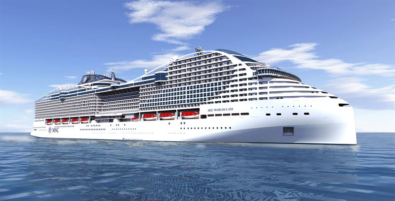 MSC Cruises selects Wärtsilä package for dual fuel newbuilds