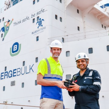 Berge Bulk receives 3D printed parts from Wilhelmsen