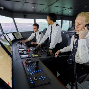 Training tomorrow's seafarers the smart way