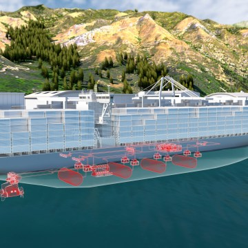 Fuel cells a step closer to powering large ships